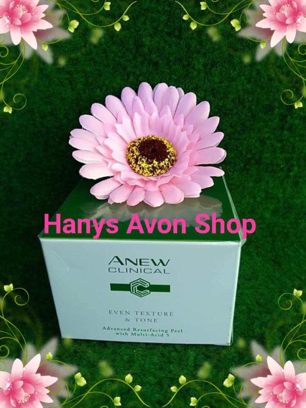 Avon Anew Clinical hautverfeinernde PEELING-PADS